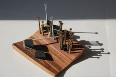 BA2 Arch: Tayseer Kardash, Youth Hostel project, Working model