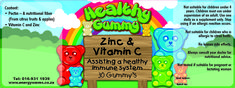 """Healthy Gummy's now in stock: Give your offspring's health an edge over the rest in just 5 steps >> """"5 Sweeties a day, keeps the doctor away"""" >> Kids, Enjoy our new Gummy supplements at all Healing Energy Waves branches and SOQI branches throughout South Africa.>> 016 9311939  1. Multi Vite - R 75 2. Strong bones (Vitamin D and Calcium ) = R 75 3. Immune (Vitamin C and Zinc) = R 60 4. Omega 3 = R 70 5. Brain Plus = R 70  Suitable for the whole family !"""