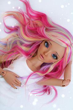 25 ideas doll pullip art for 2019 Kawaii Doll, Kawaii Anime Girl, Anime Art Girl, Anime Dolls, Ooak Dolls, Blythe Dolls, Custom Monster High Dolls, Custom Dolls, Pretty Dolls