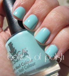 Jessica Surfer Boyz 'n Berry - I Can't Believe I Like It On Me! ~ Bottles and Bottles of Polish