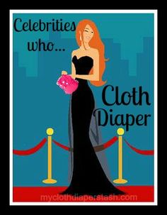 Celebrities from the past and present who are rumored to use #clothdiapers