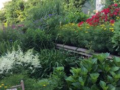 Spring planting bed