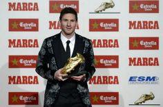 Messi đi vào lịch sử với Chiếc giầy vàng châu Âu 2013 - Tin Nhanh Trong Ngày, Tin Tức Trong Ngày, Tin 24h, News day, Tin bóng đá, Tin xã hội, Tin thể thao