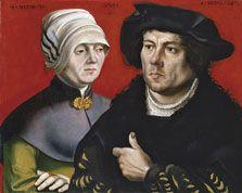Gabriel Zehender  Portrait of a married Couple  1525