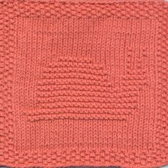 snail dishcloth: a free knitting pattern