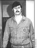 Edmund Kemper- The Co-Ed Killer.  Serial killer and necrophile who was active in California in the early 1970s. He started his criminal life by murdering his grandparents when he was 15 years old. Kemper later killed and dismembered six female hitchhikers in the Santa Cruz area. He then murdered his mother and one of her friends before turning himself in to the authorities days later. Kemper is noted for his imposing physicality, standing 6 ft 9 inches (2.06 m) and weighing over 300 pounds