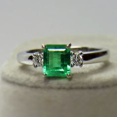Image result for nature inspired ring rose gold and emerald