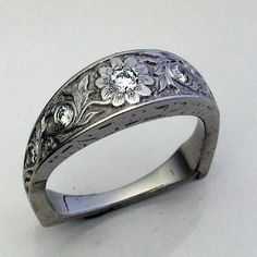 horse western wedding rings
