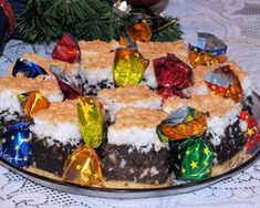 Makowiec z kokosem na kruchym spodzie Curry, Cake, Food, Baking, Curries, Kuchen, Essen, Bakken, Meals