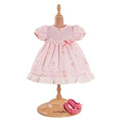 Corolle ® - Grands Poupons, Robe rose & ballerines pour poupon 36 cm (Y54670)