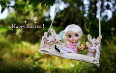 Happy Easter Flickr friends! ~ by Voodoolady ♎, via Flickr