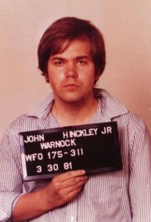 June 21, 1982 John Hinckley Jr. was found innocent by reason of insanity in the shootings of President Ronald Reagan and three others.