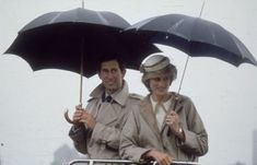 Charles and Diana, Prince and Princess of Wales, in June 1983