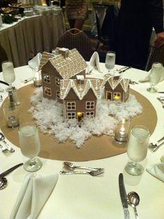 Faux gingerbread houses dec '12