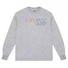 C-N-Y Roswell HD NYC Long Sleeve T-Shirt (Grey)