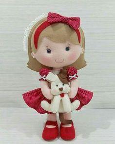 Molds for making felt dolls Felt Patterns Free, Felt Doll Patterns, Stuffed Toys Patterns, Fabric Animals, Felt Animals, Felt Crafts Dolls, Felt Baby, Felt Applique, Felt Toys
