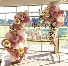 Pink and Gold Balloons, 44 pcs Light Pink Balloons Fuschia Balloons Gold Metallic Balloons Gold Confetti Balloons and Giant Balloon for Princess Party, 4 pcs Pink Giant Balloons Included Balloon Garland, Balloon Decorations, Birthday Party Decorations, Baby Shower Decorations, Birthday Parties, Wedding Decorations, Elegant Birthday Party, Quince Decorations, Candy Centerpieces