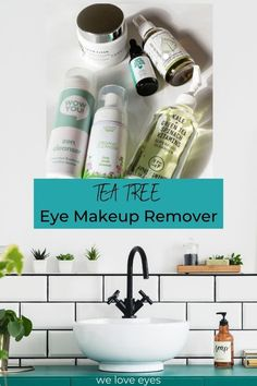 We Love Eyes tea tree eye makeup remover system is going to leave your eyes bright and loving life! Bright Eye Makeup, Skincare Blog, Vitis Vinifera, Eye Makeup Remover, Oil Uses, Cleansing Oil, Diy Skin Care, Tea Tree Oil