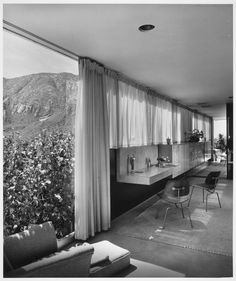 The Kaufmann House was designed by Austria-born architect, Richard Neutra in 1946, and is located in Palm Springs, California.    The house...