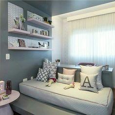Inspiração ♡ #interiores #design #interiordesign #decor #decoração #decorlovers #archilovers #inspiration #ideias #dormitórioinfantil #bedroom #quartoinfantil #kidsroom #quartodemenina #girlroom