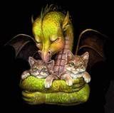 the cat dragon