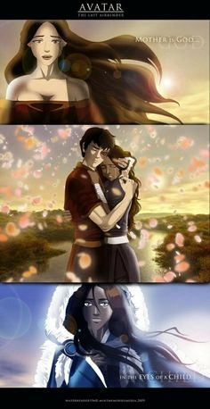 While I don't like the statement, it is true that losing mothers that they highly adored is something that Katara and Zuko have in common.