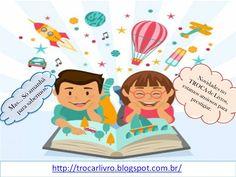 NOVIDADES NO AR.... aguarde.... o blogger TROCA de Livros aguarda por vocês. Acessem o link. http://trocarlivro.blogspot.com.br/