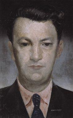 Candido Portinari - portrait of Antonio Barros de Carvalho, 1934