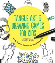 Tangle Art and Drawing Games for Kids book.