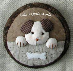 Ulla Mundial do edredon: Quilted bolsa coelho 2, patchwork em japonês