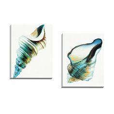 <li>Title: Coastal Fragments II <li><li>Artist: Sandy Doonan </li><li>Product type: Framed canvas wall art</li>