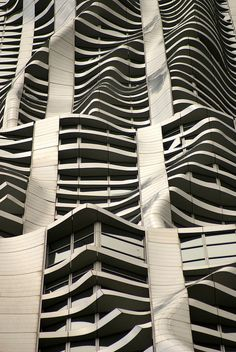 8 Spruce Street (2010) in NY, NY. One of the few Frank Gehry buildings that I actually like. I find that it's a good balance between form and function. The undulating facade is very unique whilst still maintaining a traditional skyscraper form. Also known as Beekman Tower.