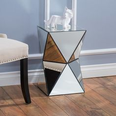 Found it at Wayfair - Eisenberg Mirrored Accent End Table