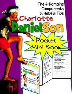 Charlotte Danielson Mini Pocket Foldable: 4 Domains, Components, Helpful Tips. Includes: 1 page PANELS) Directions on how to assemble pocket foldable Danielson Framework- the 4 Domains Elements of the each domain's components Helpful tips Danielson Rubric, Danielson Framework, Professional Learning Communities, Professional Development, Charlotte Danielson, Teacher Librarian, Teacher Stuff, Teacher Observation, Teacher Portfolio