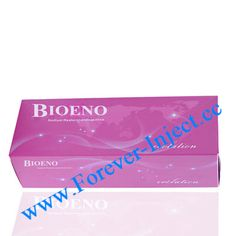 Package 2ml/piece Bioeno Evolution : Suitable for wrinkles, lip injections, ear, tears ditch. Bioeno Fine : Suitable for nose jobs, chin Feng. Bioeno Original : Suitable for wrinkles, lip fillers, ear lobe, tear groove, nasolabial folds, cheeks, temples, forehead, etc.  Bioeno Ultia : Suitable for cheeks, temples, forehead, chin, nose, etc.