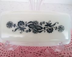 corelle dishes retro patterns blue onion - Google Search