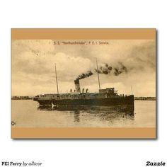 PEI Ferry Postcard