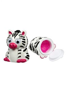 Zebra Lip Gloss Pots | Girls New Arrivals Features | Shop Justice I had the penguin!  And a very unfortunate place for the gloss to be located, no?
