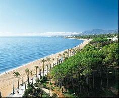 Het strand bij Malaga