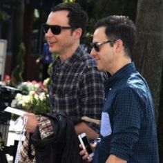 Jim Parsons And Boyfriend Todd Spiewak Accept GLSEN Award; Say They Have No Plans To Get Married [READ MORE: http://uinterview.com/news/jim-parsons-and-boyfriend-todd-spiewak-accept-glsen-award-say-they-have-no-plans-to-get-married-9260] #jimparsons #toddspiewak #glsen #lgbt #glsenaward #marriage