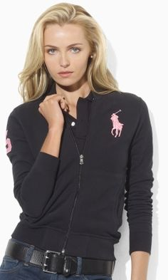 Skinny-Fit Pink Pony Jacket - Create Your Own Long-Sleeve - RalphLauren.