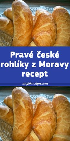 Czech Recipes, Hot Dog Buns, Food Dishes, Recipies, Good Food, Food And Drink, Meals, Baking, Pizza