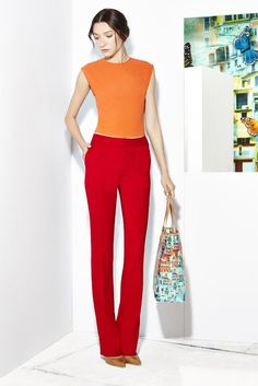 Alice + Olivia Resort 2015 - Collection - Gallery - Look 1 - Style.com