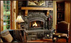 Fireplace Xtrodinair by Travis Industries