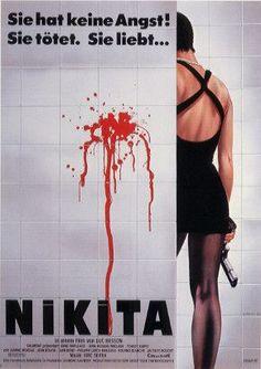 La Femme Nikita.  1990.  Love the design on this one.