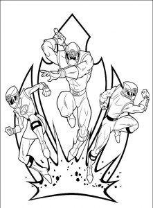 Imagens para pintar dos Power Rangers  12  Colorir Power Rangers