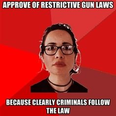 Liberal Douche Garofalo - APprove of restrictive gun laws because clearly criminals follow the law