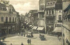 Piața Sf. Gheorghe și strada Lipscani, anii 20