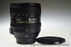 NIKON AF-S VR NIKKOR ED 24-85mm f/3.5-4.5G SWM Excellent #Nikon
