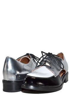 Jeffrey Campbell - Rossdale Oxfords Tap Shoes, Dance Shoes, Women's Shoes, Shoe Show, Jeffrey Campbell, Flats, Black And White, Amazon, Women's Oxfords